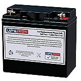 Powerland 10000 WATT Portable Generator PD3G10000E Compatible Replacement Battery by UPSBatteryCenter (Replaces 6DM18 & 6FM18)