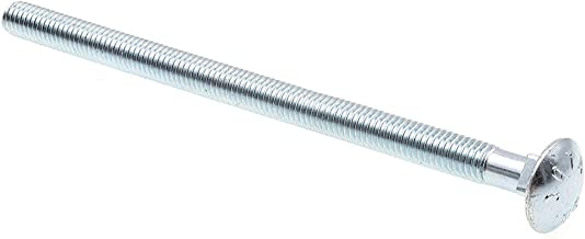 Prime-Line 9064008 Carriage Bolt, Verzinkt Staal, 3/8 In-16 x 6-1/2 In