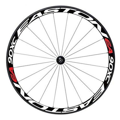 BOROK Adesivo per Bicicletta Bici Ruote Light Reflective Stickers Adesivi Riflettenti Chiari