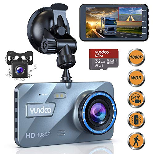 Photo de dashcam-avant-et-arriere-camera-de-voiture-dashcam