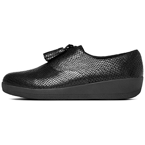 FitFlop Classic Tassel Superoxford, Zapatos de Cordones Oxford para Mujer