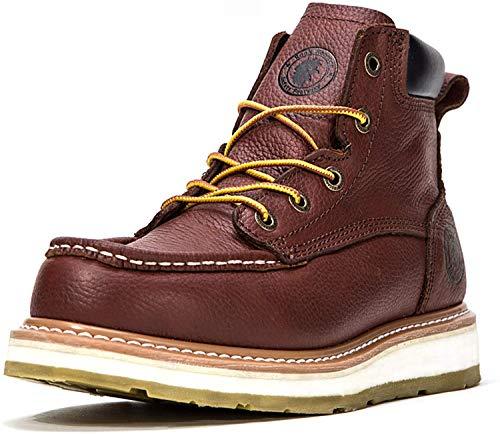 ROCKROOSTER Work Boots for Men, Soft Toe Waterproof...