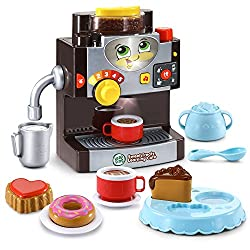commercial LeapFrog Sweet Treats Lerncafe Amazon Limited, Black toy coffee makers