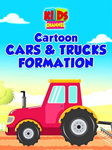 Cartoon Cars & Trucks Formation