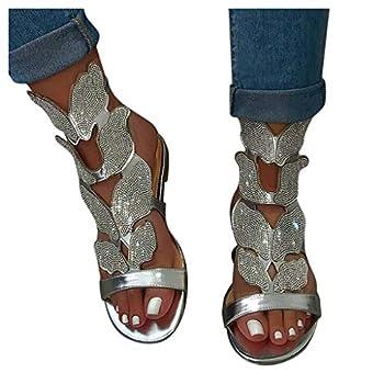 AOKASII Sandals for Women Dressy,Womens 2021 Platform Slide On Sandal Open Toe Dress Summer Casual Slippers Shoes