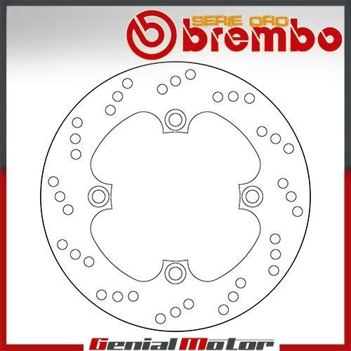 68B40749 Disco Freno Fijo Brembo Serie Oro Posterior por Cbr Rr Abs 600 2009 > 2012