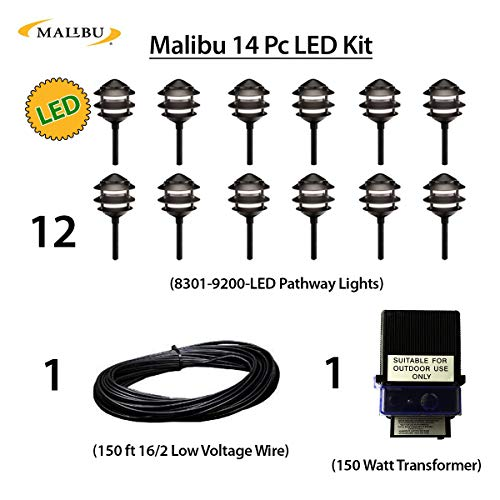 Malibu 14 Piece LED Lighting Kit...