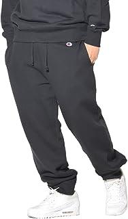 [チャンピオン] ロングパンツ ジョガーパンツ 裏起毛 スウェットパンツ 綿100% ワンポイントロゴワッペン C3-Q205 メンズ