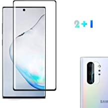[2 Pack] Screen Protector for Samsung Galaxy Note 10+ Plus (Note 10+ 5G, 6.8 inch Display) with Camera Lens Protector, [Case Friendly][Fingerprint Available][Bubble-Free]