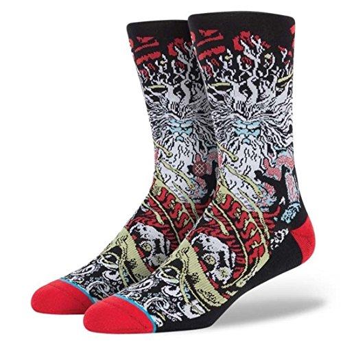 Stance Jason Jessee Poseidon Socks - Black - L/XL