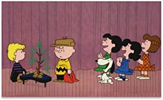 BANDAO Charlie Brown Christmas Super Absorbent Durable Rubber Entrance Doormat Non-Slip Backing Rug Indoor Outdoor Welcome Doormats Non-Woven Fabric