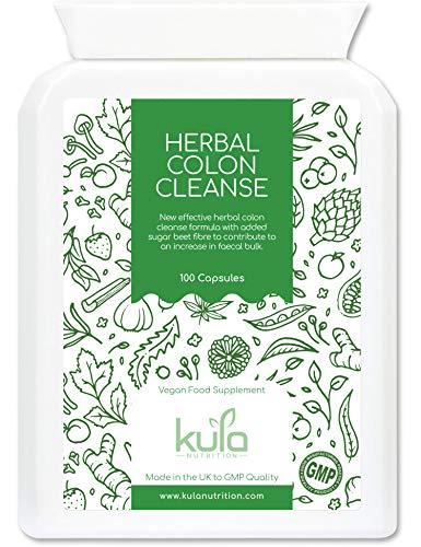 Kula Nutrition Herbal Colon Cleanse - Aloe Vera et Fibre de