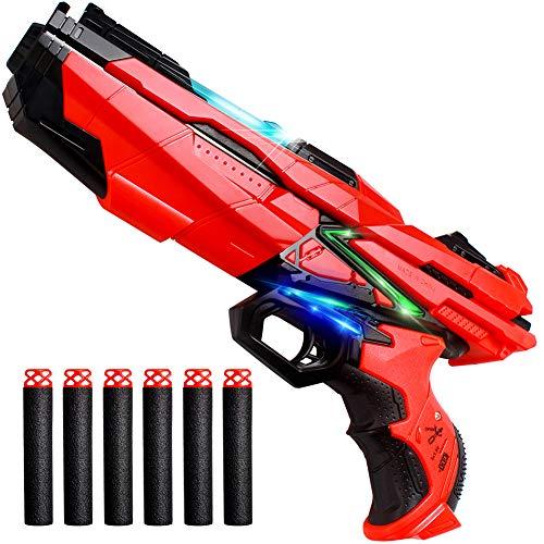 StillCool Niños Disparando Juguetes Pistola Foam Blasters & Bullets Dardos de Espuma Pistola con Luz