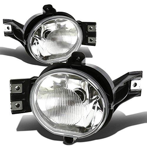 Replacement for Dodge Ram/Durango 3rd Gen Clear Lens Driving Bumper Fog Light