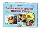 Kindliches Verhalten verstehen – Bedürfnisse erkennen. 45 Fotokarten für Teamarbeit und Elterngespräch - Sybille Schmitz