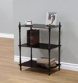 Frenchi Home Furnishing 3-Tier Shelves, Cherry