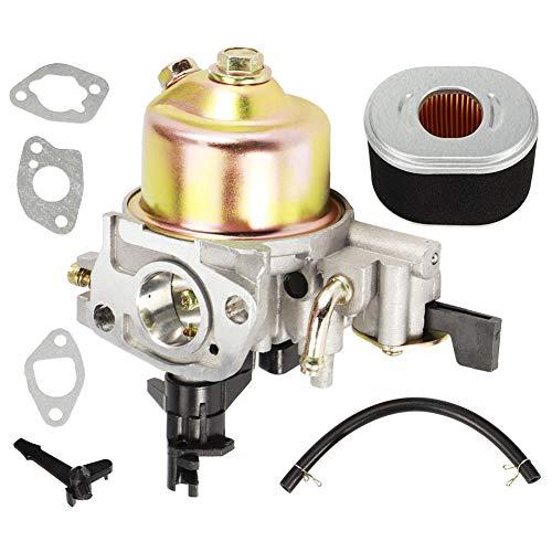 Fdit Kit de Filtro de Aire de carburador para cortacésped, Repuesto de carburador para Recortadora de césped de jardín para Honda GX120 GX 160 5.5hp GX200 6.5HP 168F