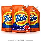 Tide Laundry Detergent Liquid, Original Scent, HE Turbo Clean, Pack of 3 Smart...