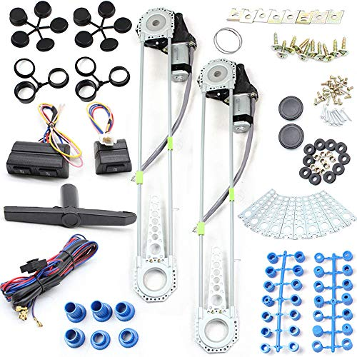 Window Kit 3mA 12V Car Electric Power Window Lift...