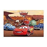 Lag3 Cars Póster (tamaño Grande), diseño de Personajes, Multicolor