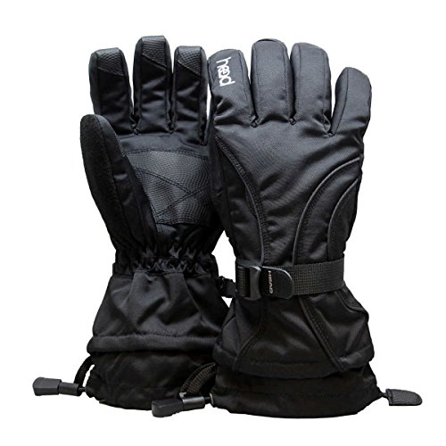 Head Junior Ski Glove 6-10 (M, Black) - NEW
