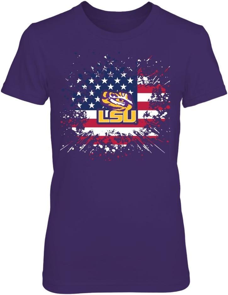 FanPrint Brand Cheap Sale Cheap mail order sales Venue LSU Tigers T-Shirt Flag - Pride