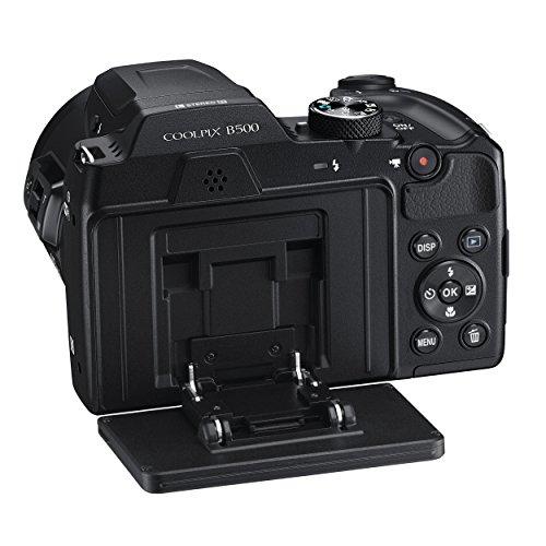 NikonデジタルカメラCOOLPIXB500光学40倍ズーム1602万画素単三電池ブラックB500BK