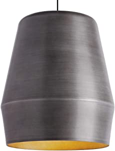 Tech Lighting 700TDALEFG Allea - One Light Line-Voltage Pendant, Fossil Gray Finish