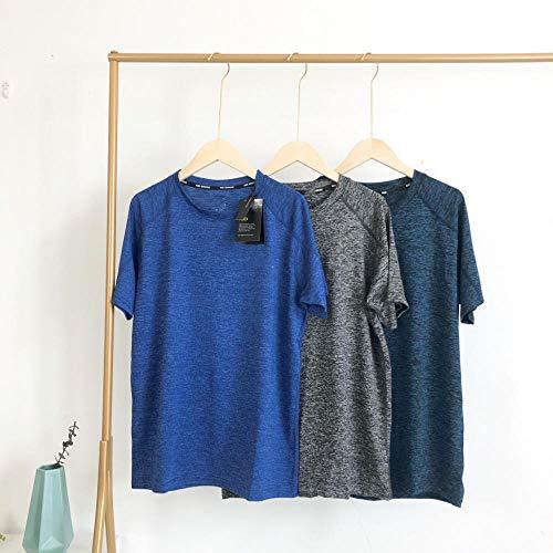 MedusaABCZeus Kurzarm Shirt Uv Schutz T-Shirt,Kurzärmeliges, schnell trocknendes T-Shirt, Herren in Übergröße, hellblau_5XL,Poloshirts Damen