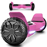 """MARKBOARD Patinete Eléctrico 6.5"""" Hover Scooter Board SUV Scooter Auto- Equilibrio Dual..."""