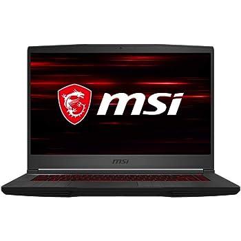 "MSI GF65 Thin 10SER-884XES - Ordenador portátil Gaming de 15.6"" FullHD 144Hz (Intel Core i7-10750H, 16GB RAM, 512GB SSD, RTX2060-6GB, Sin sistema operativo) negro - Teclado QWERTY Español"