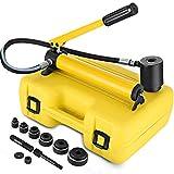 Mophorn 10T 6 Die Kit de Destornillador Perforador Hidráulico Conducto Herramienta Manual