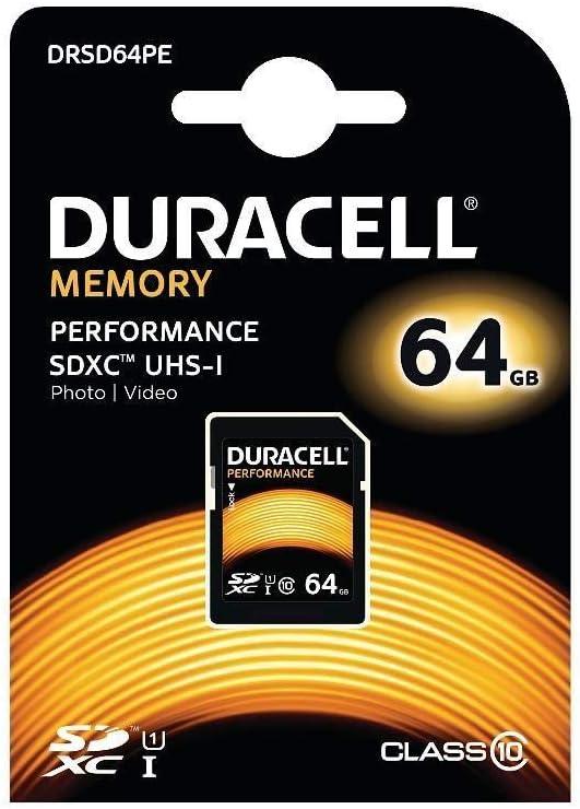 Duracell Performance 64gb Sdhc Class 10 Speicherkarte Computer Zubehör