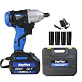 <span class='highlight'><span class='highlight'>ZanGe</span></span> 18V Impact Wrench 2-Speed Driver Kit 420Nm 1/2 inch Square Drive w/ 6.0Ah Rechargeable Li-Ion Batteries, Work Light, Forward Reverse Setting Ideal for Roadside Emergency | Cordless-Electric