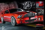 Mustang - Easton - Red - Auto Poster Car Sportwagen