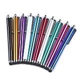 Yizhet 10x universal Stylus Stift Touch Pen Eingabestift mit Clip Design für iPhone iPad Samsung...