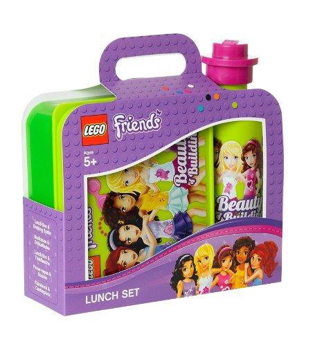 LEGO Friends - Set de caja y botella para almuerzo (Room Copenhagen 40591716) , color/modelo surtido