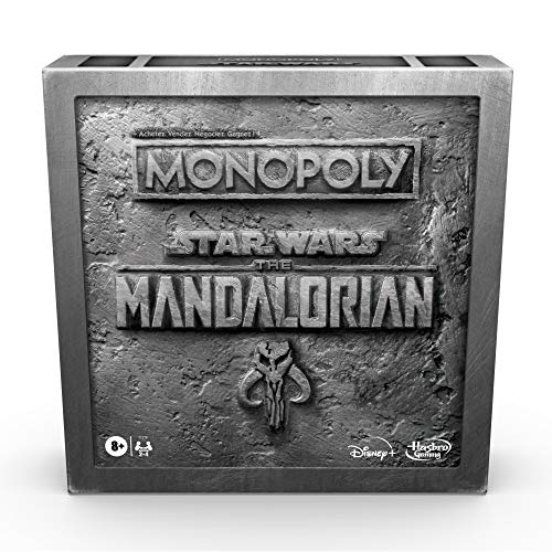 Monopoly Star Wars The Mandalorian - Jeu de Societe - Jeu de Plateau - Version française