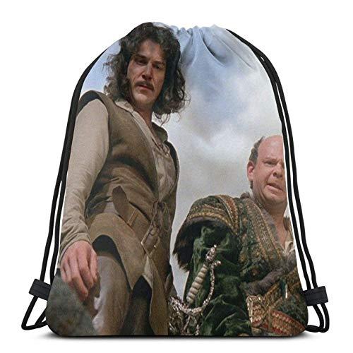 Princ Bride 2 Sport Sackpack Drawstring Backpack Gym Bag Sack