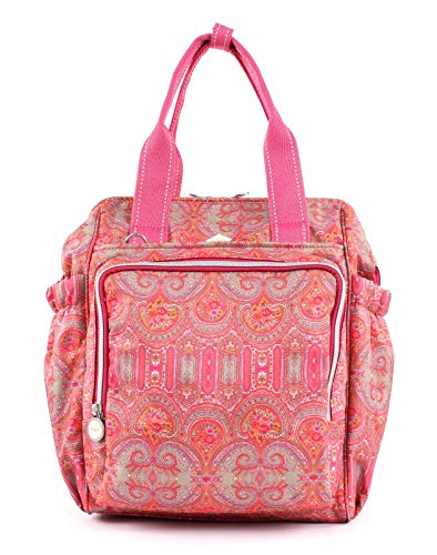 Oilily Damen Groovy Diaperbackpack Mvz Tote, Rot (Red), 15x36x26.5 cm
