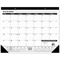 monthly calendar for home offices
