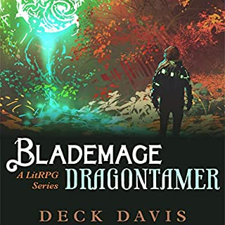 Blademage Dragontamer audiobook cover art