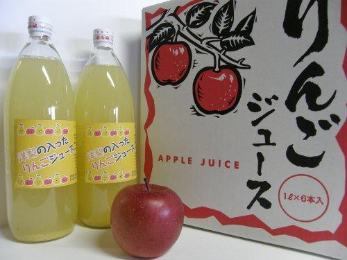 代田農園 洋梨の入ったリンゴジュース【果汁100%】 1000ml×12本入