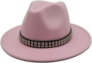 Hat Casual Wild Fascinator Hat Size 56-58CM Women Men Wool Fedora Hat Winter Autumn Wide Brim Jazz Hat Panama Church Hat Fashion Hat