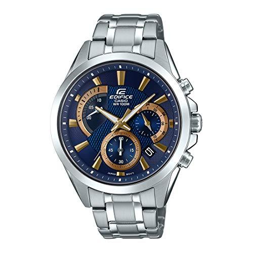 Relógio Casio Edifice Analógico Cronógrafo Masculino EFV-580D-2AVUDF