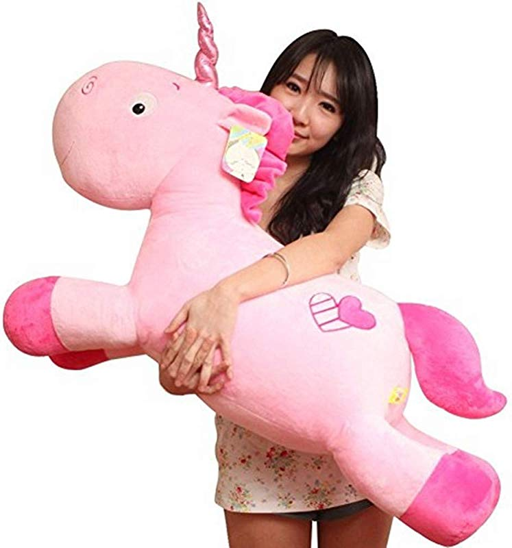 Missley Soft And Cuddly Plush Unicorn Pillow Stuffed Animal Pillow Toy