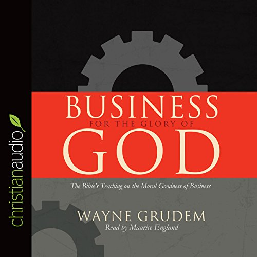Business for the Glory of God audiobook cover art