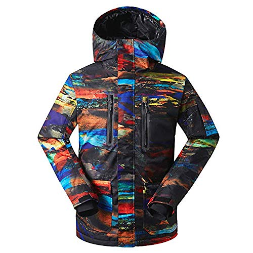 Men's Winter Coat Ski Snowboard Jacket Pants Windproof Waterproof for Winter Sports