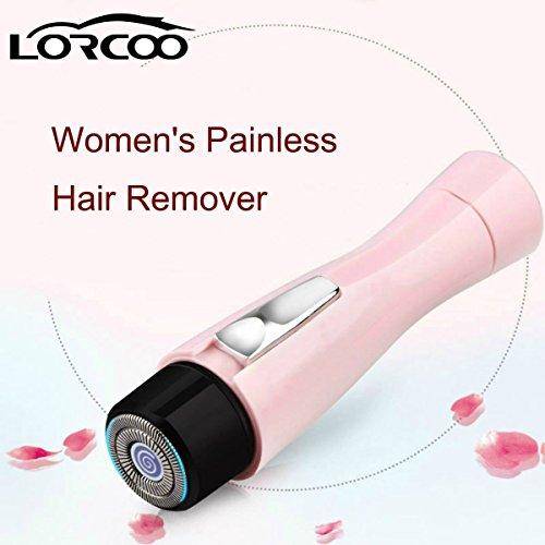 Lorcoo Elektrisch scheerapparaat voor dames, pijnloos, snoerloos