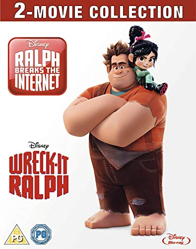 Wreck-It Ralph and Ralph Breaks the Internet Duopack [Blu-ray] [2018] [Region Free]